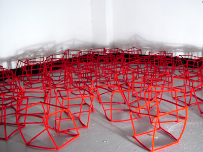 Necker Cube (Red Floor #2) 2nd view